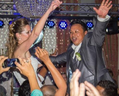 Bruiloft met DJ
