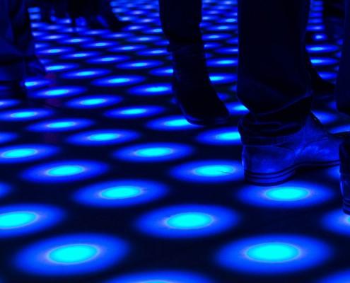 Pixel verlichte LED dansvloer