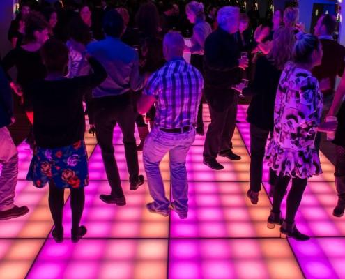 Matrix LED vloer
